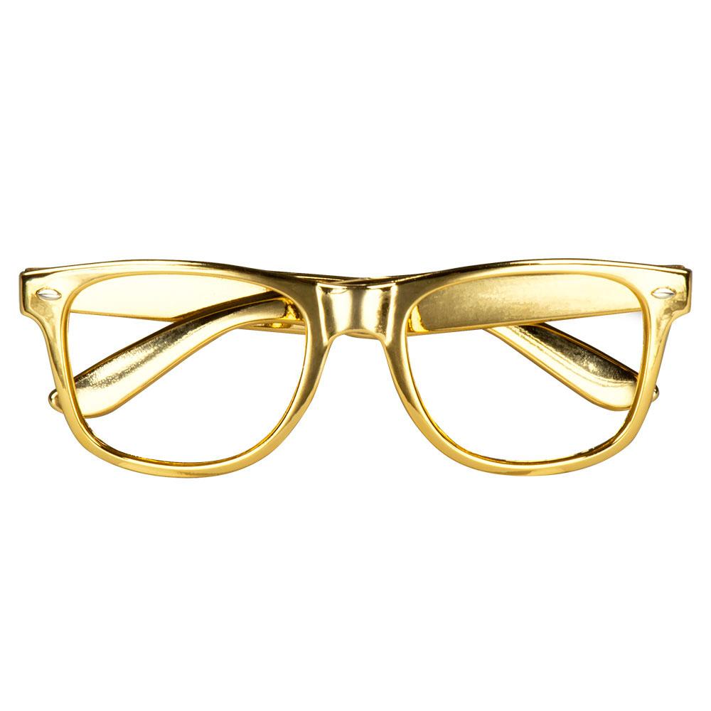 Guldiga Fest Glasögon