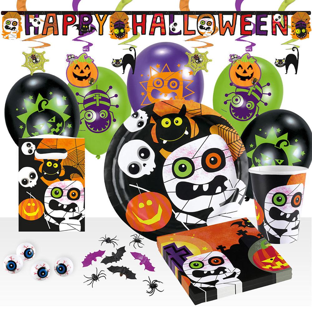 Halloween Kalas Kit Deluxe 8 Pers