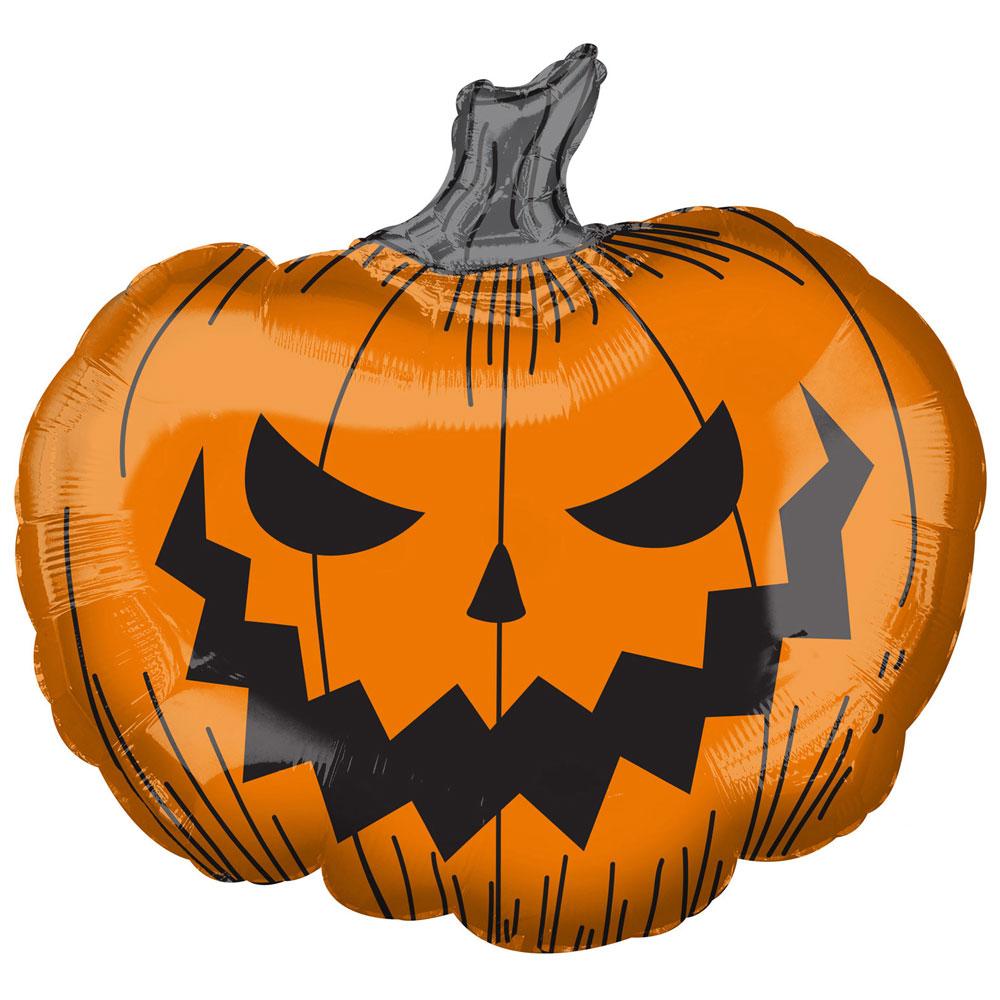 Halloween Pumpa Ballong Folie