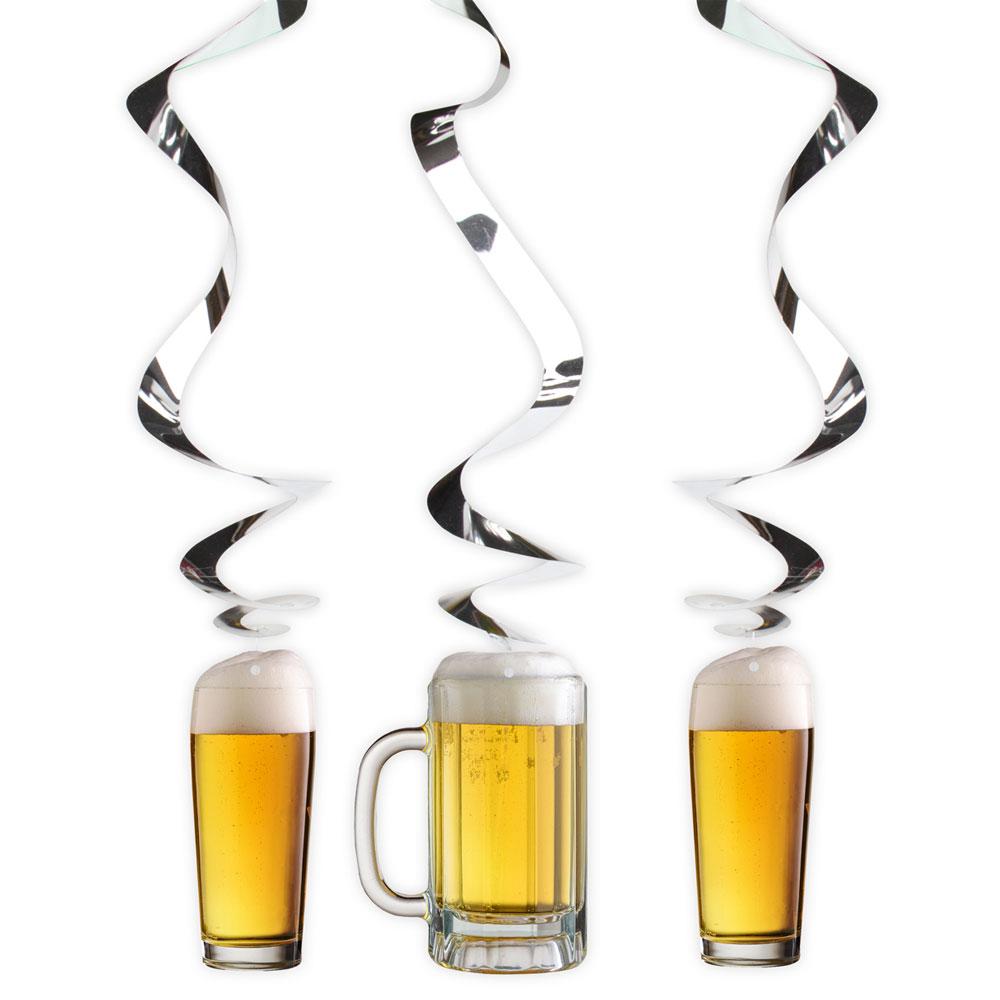 Hängande Ölglas med Virvlar