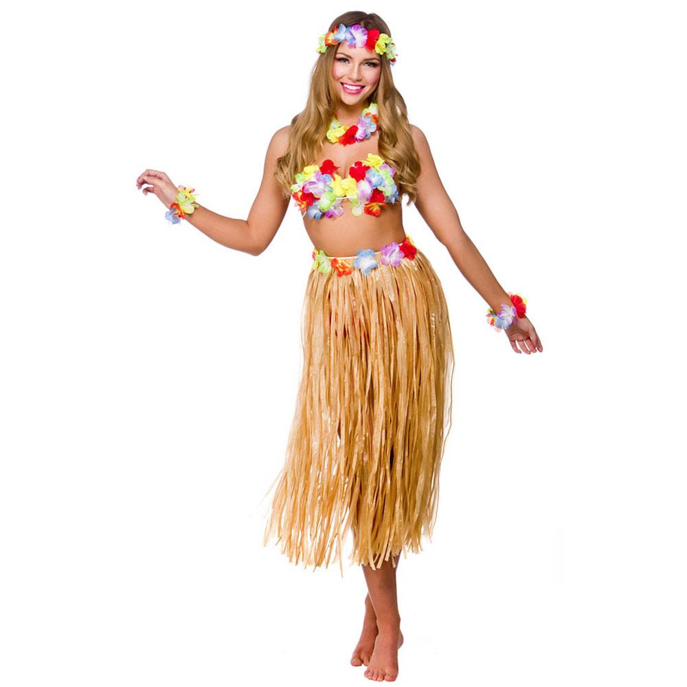 Hawaii Partytjej Maskeraddräkt