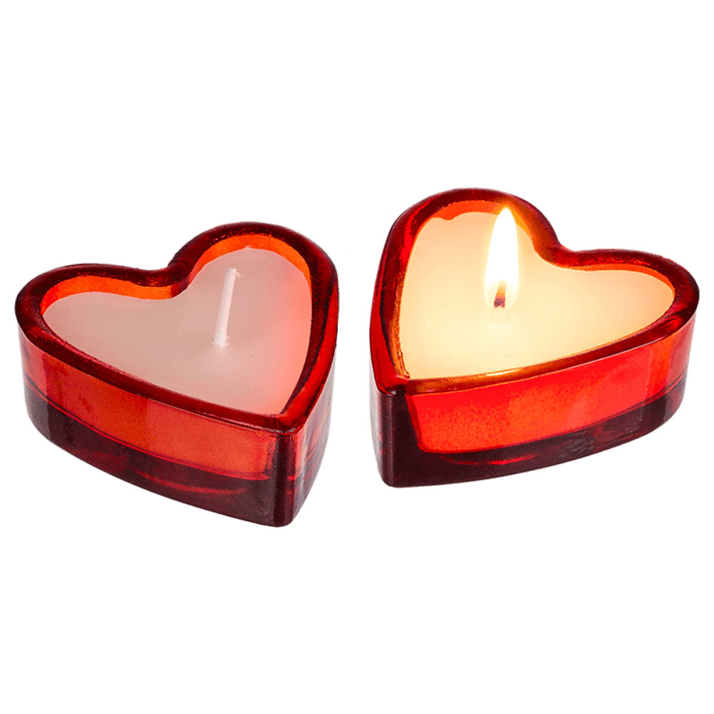 Hjärtformade Doftljus