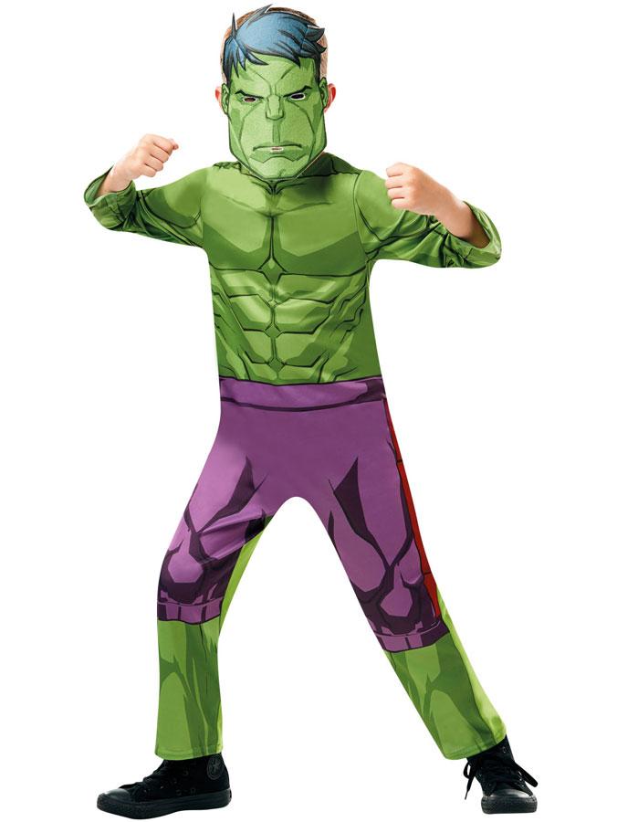 Hulken Dräkt Barn (X-Small (2-3 år))