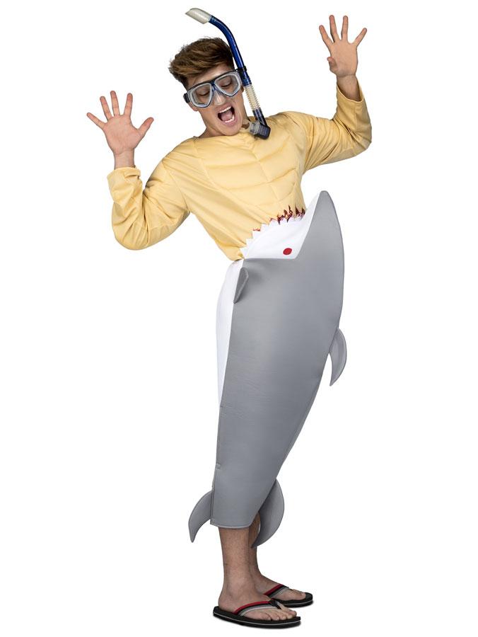 Hungrig Haj Maskeraddräkt