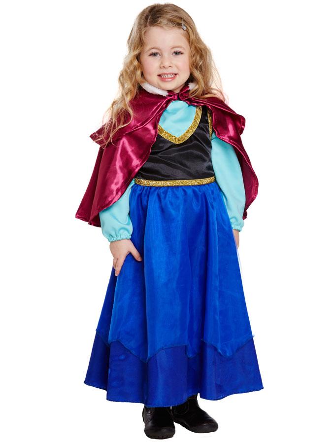 Ice Princess Maskeraddräkt Barn