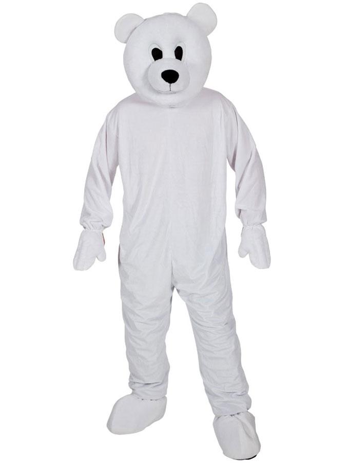 Isbjörnsdräkt Maskot