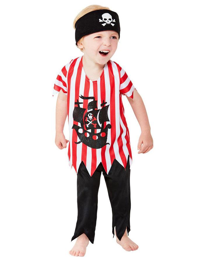 Jolly Pirate Maskeraddräkt Barn (T1 (1-2år))