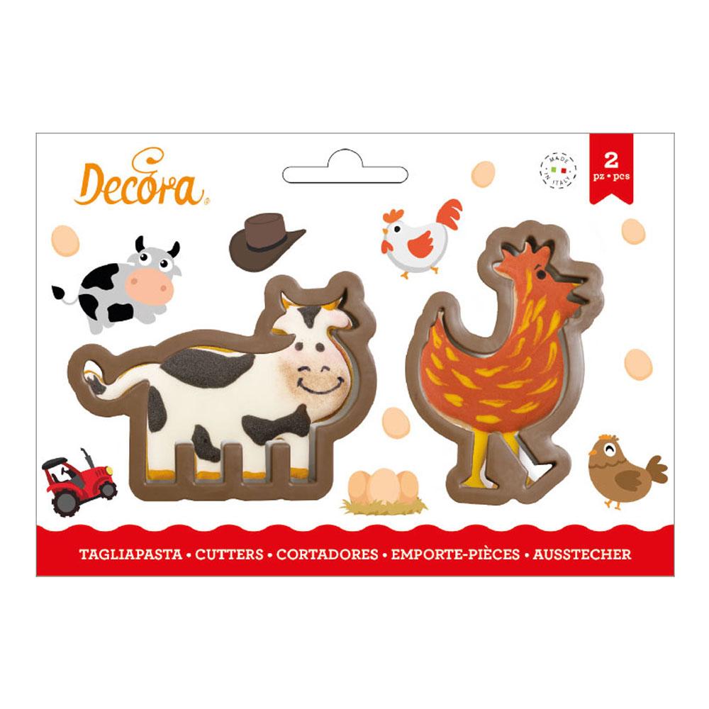 Kyckling-produkter - Kakformar Kossa och Höna