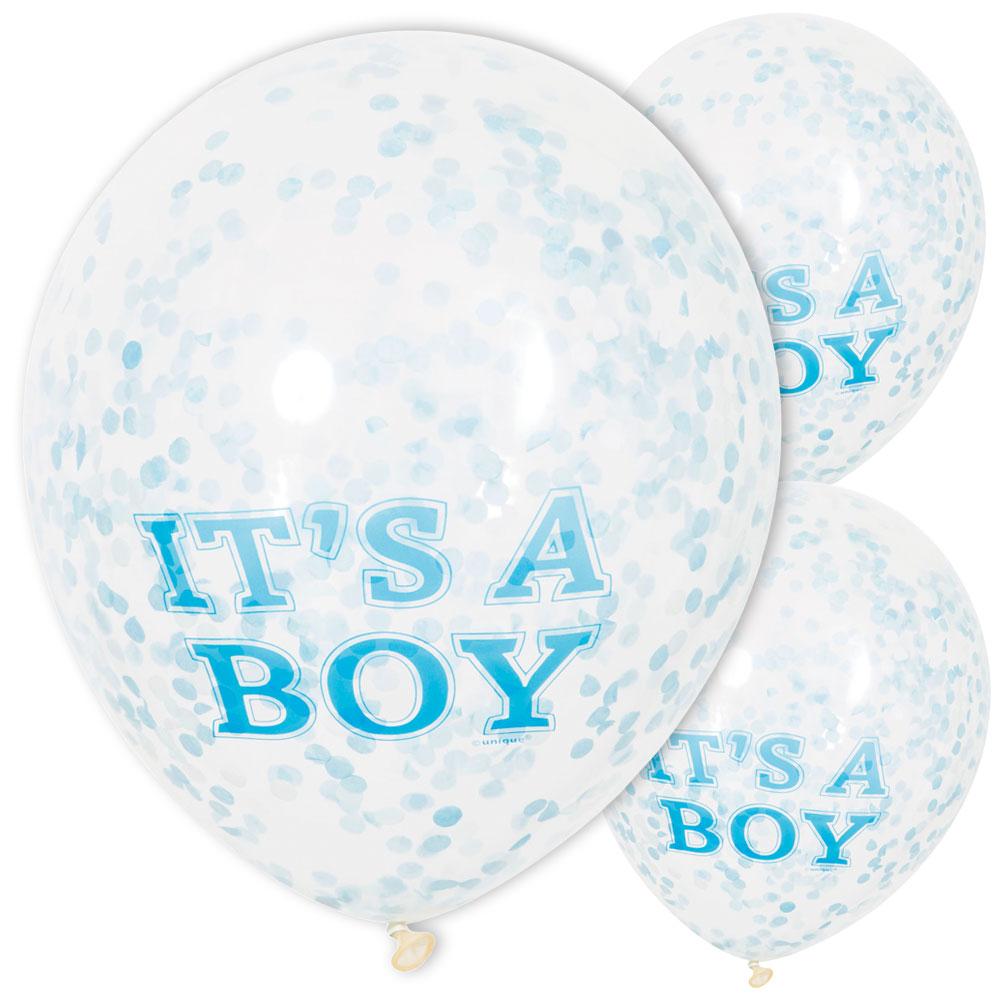 Konfetti Ballonger It's a Boy