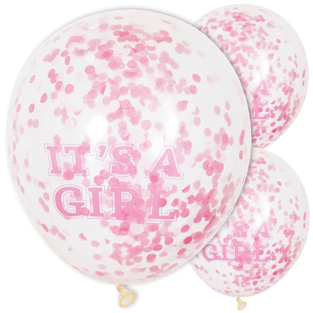 Konfetti Ballonger It's a Girl