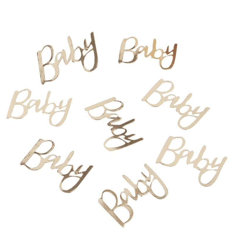 Konfetti Guld Baby