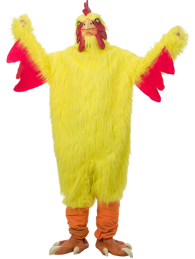 Kycklingdräkt Deluxe