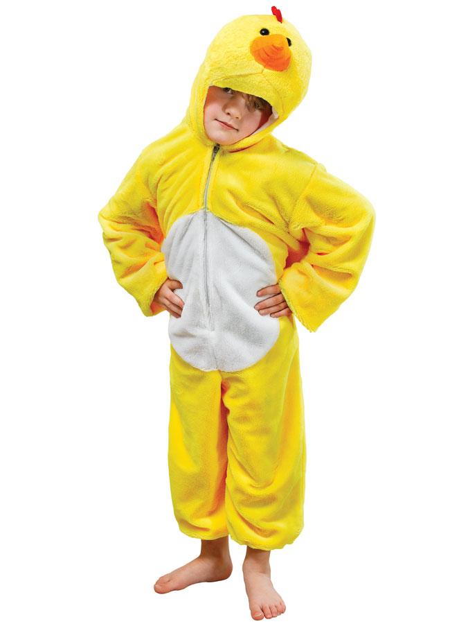 Kycklingdräkt Jumpsuit Barn (Small (3-4 år))