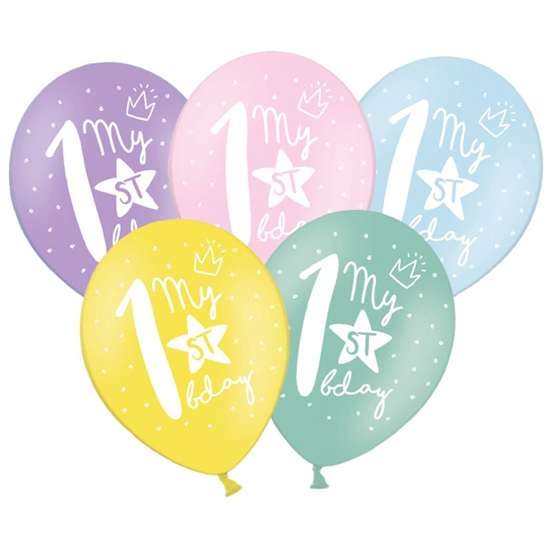 Latex Sifferballonger Ett