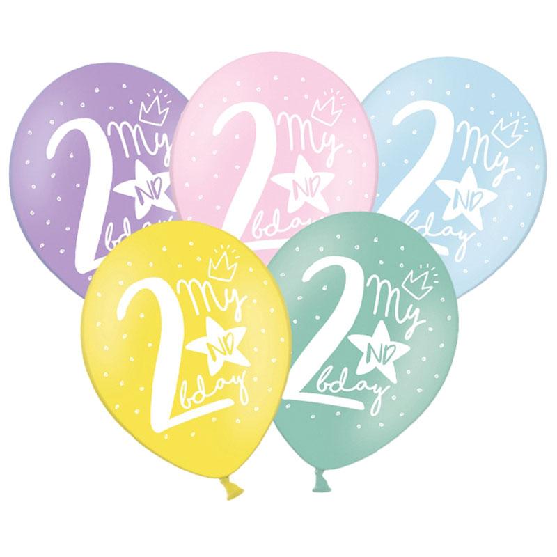 Latex Sifferballonger Två