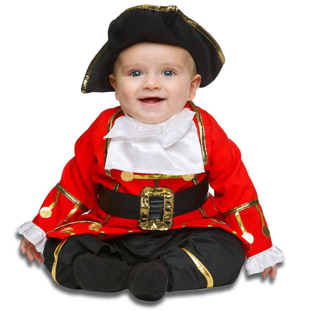 Liten Pirat Maskeraddräkt Barn (0-6 mån)