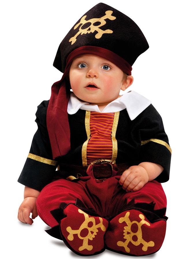 Liten Piratdräkt Barn (7-12 månander)