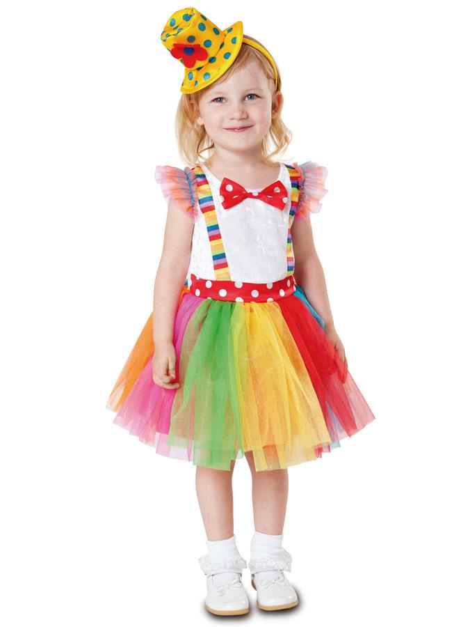 Little Clown Maskeraddräkt Barn (12-24 mån)