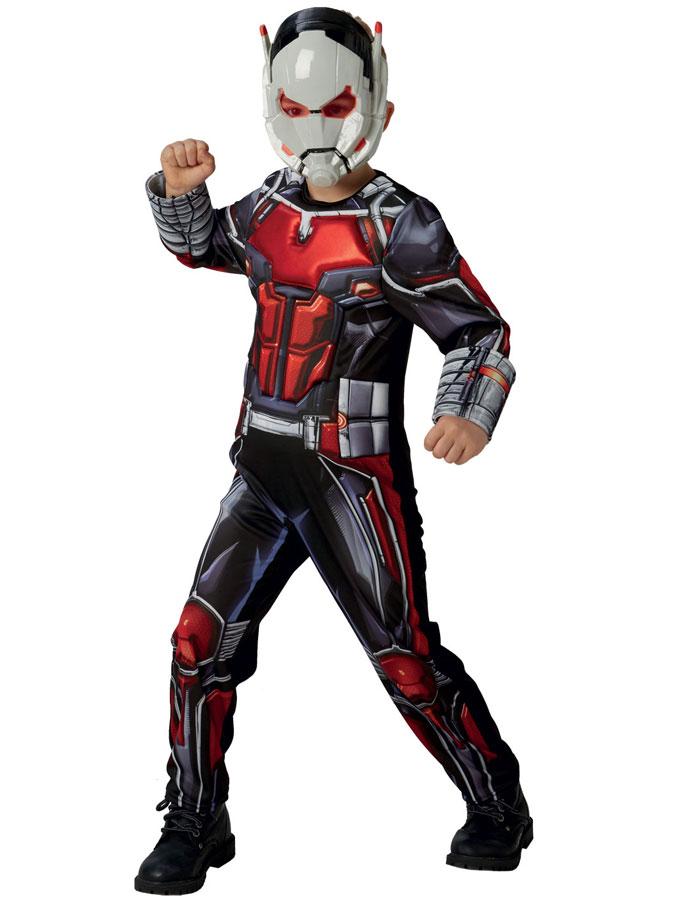Marvel Ant-Man Dräkt Barn (Small (3-4 år))