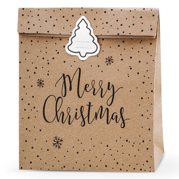 Merry Christmas Julklappspåsar