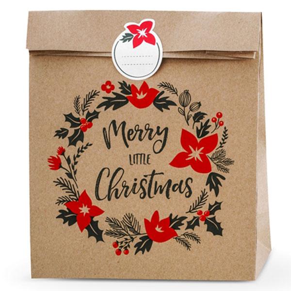 Merry Little Christmas Julklappspåsar