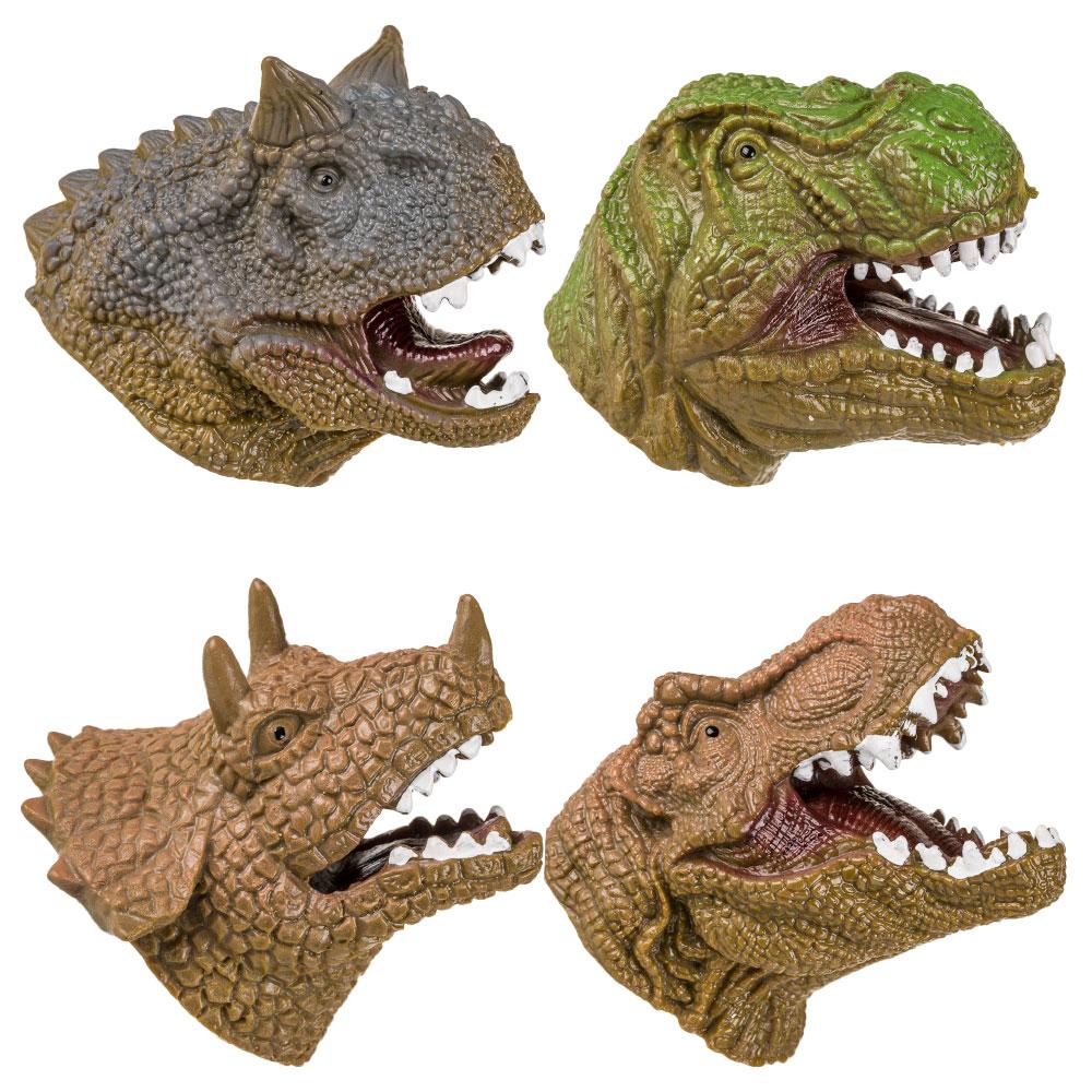 Mini Handdocka Dinosaurie