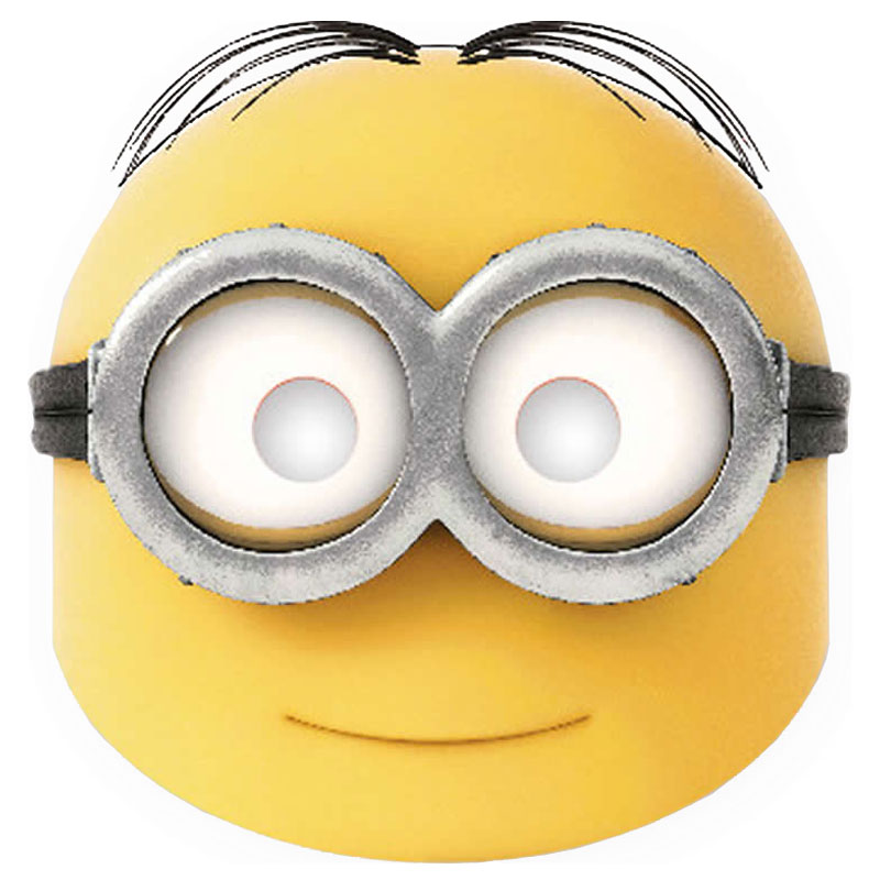 Minions Pappmasker