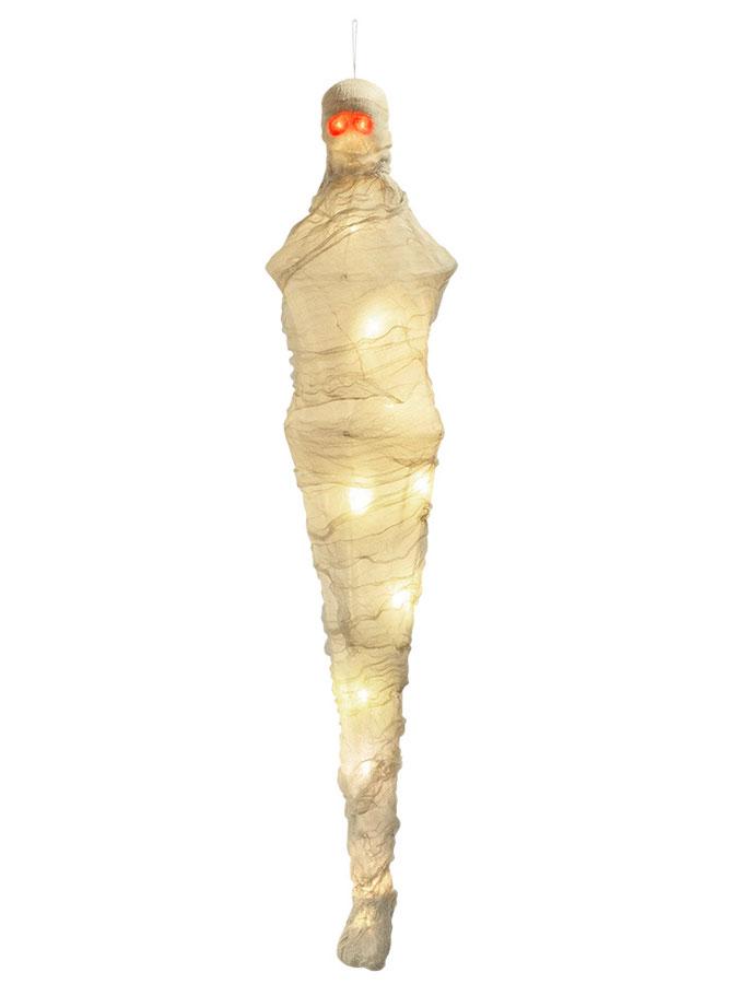 Mumie Dekoration med Ljus