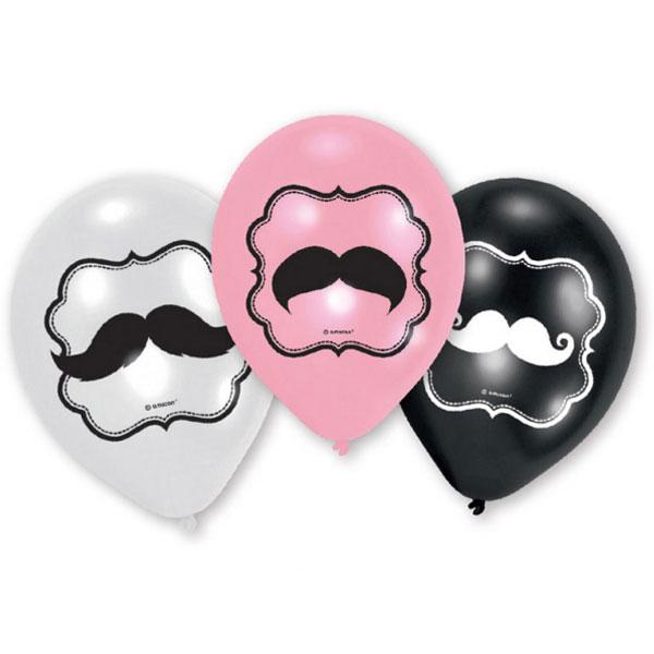 Mustasch Ballonger