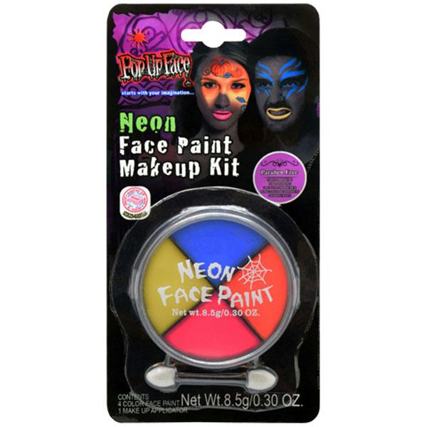 Neon Ansiktsfärg Set