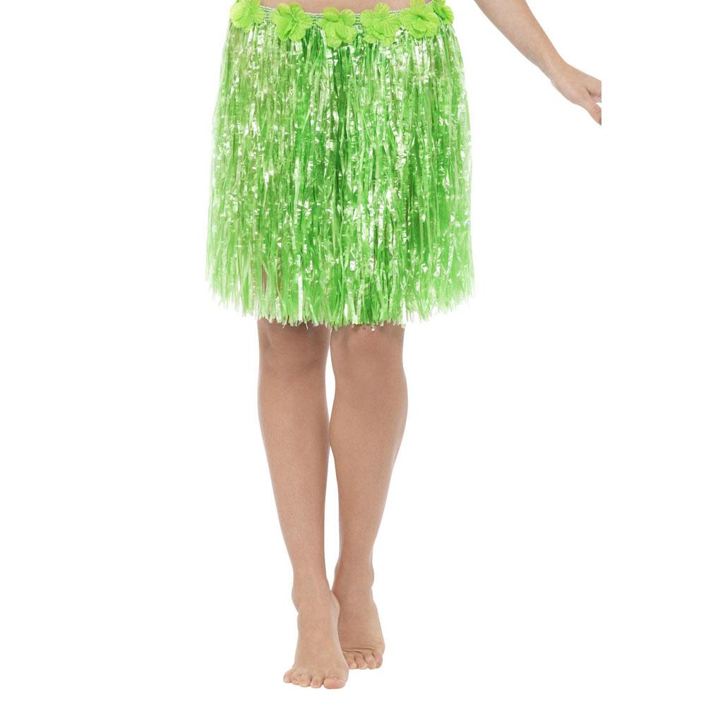 Neon Grön Hawaii Kjol
