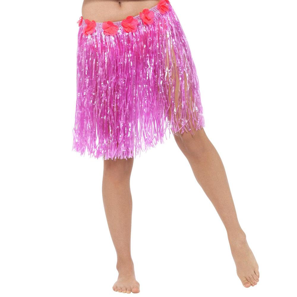 Neon Rosa Hawaii Kjol