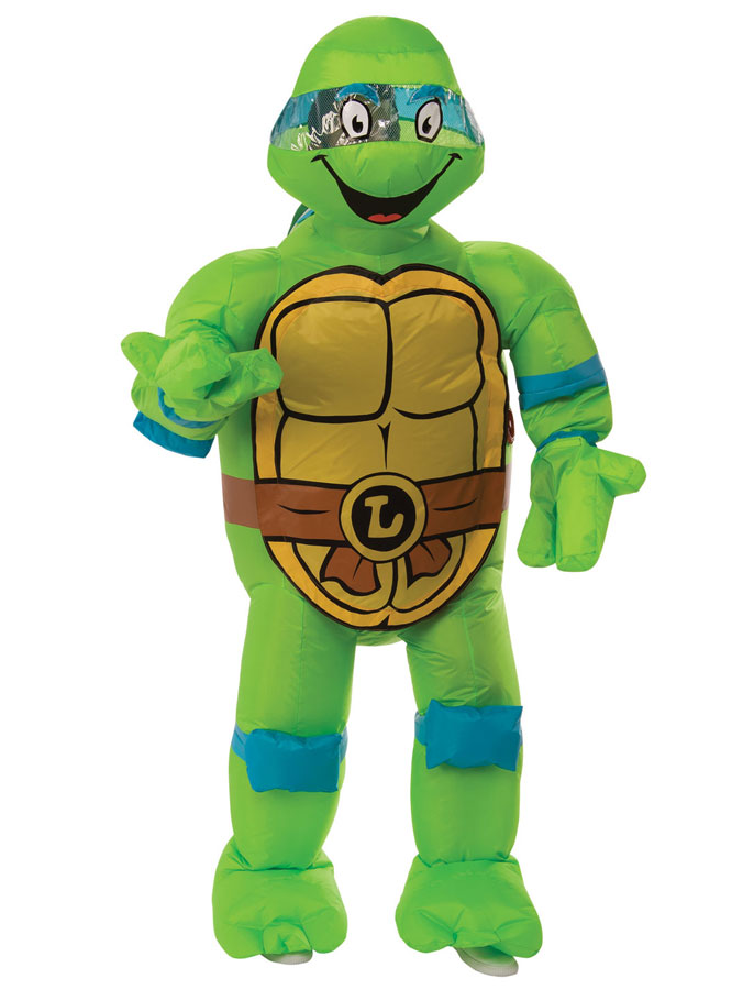 Ninja Turtles Leonardo Uppblåsbar Dräkt