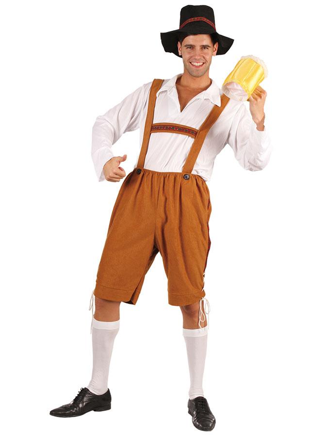 Oktoberfest kläder Lederhosen
