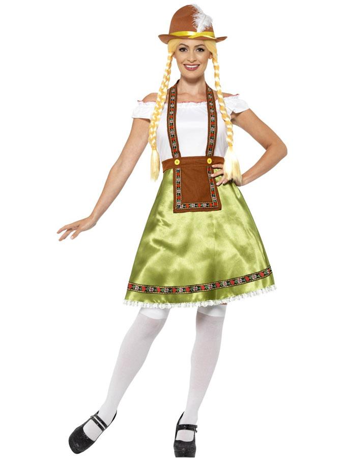 Oktoberfest Klänning Maskeraddräkt