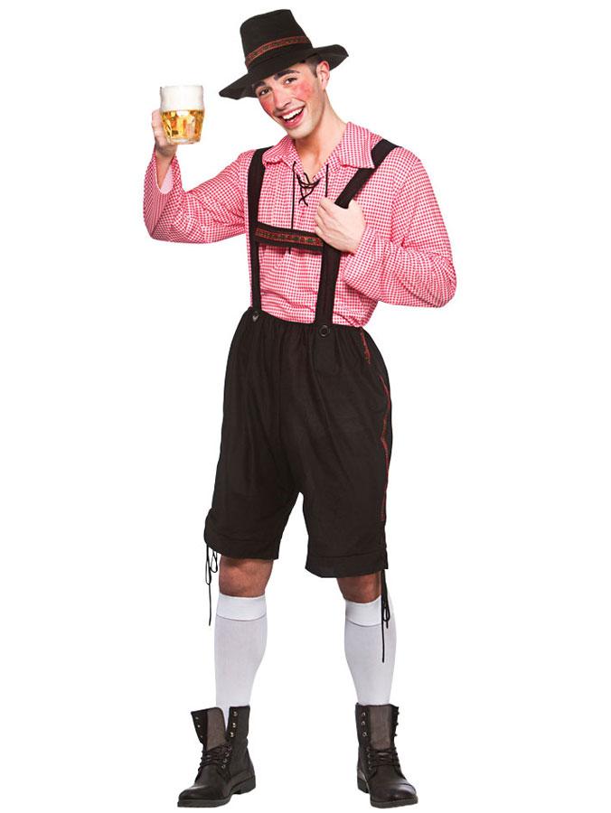 Oktoberfest Party Guy Maskeraddräkt (Small)