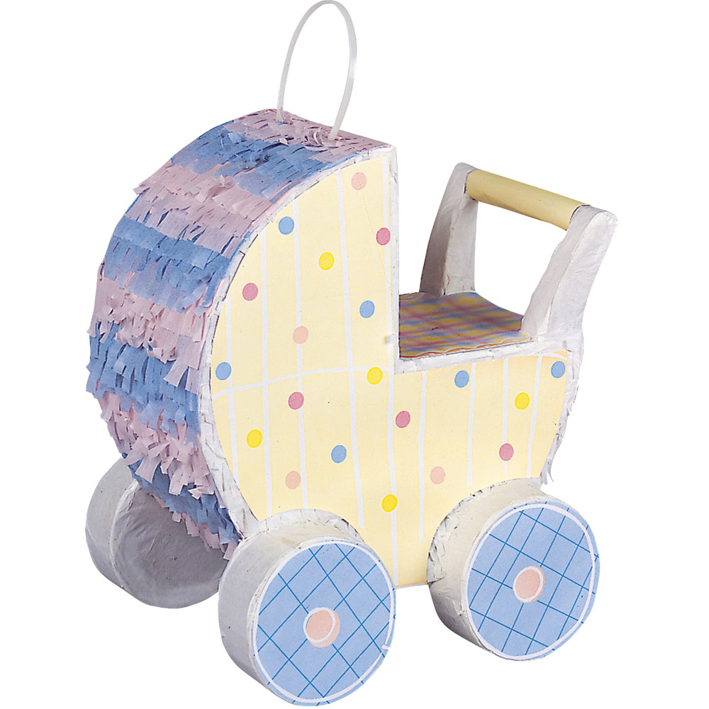 Pinata Baby Shower Barnvagn