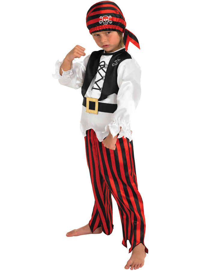 Piratdräkt Barn Pojke (Small (3-4 år))