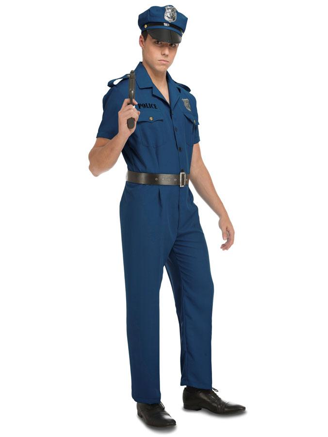 Polis Maskeraddräkt (X-Small)