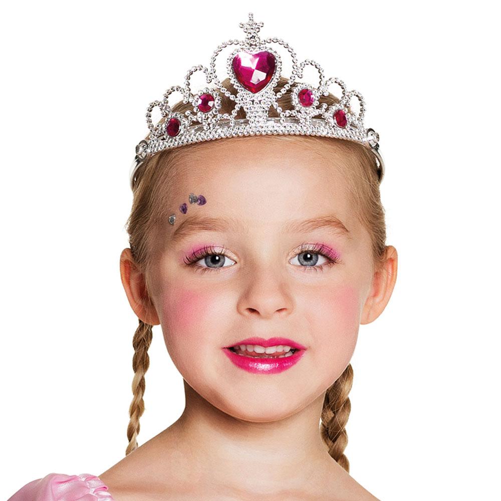 Prinsesskrona med Hjärta Diadem Barn