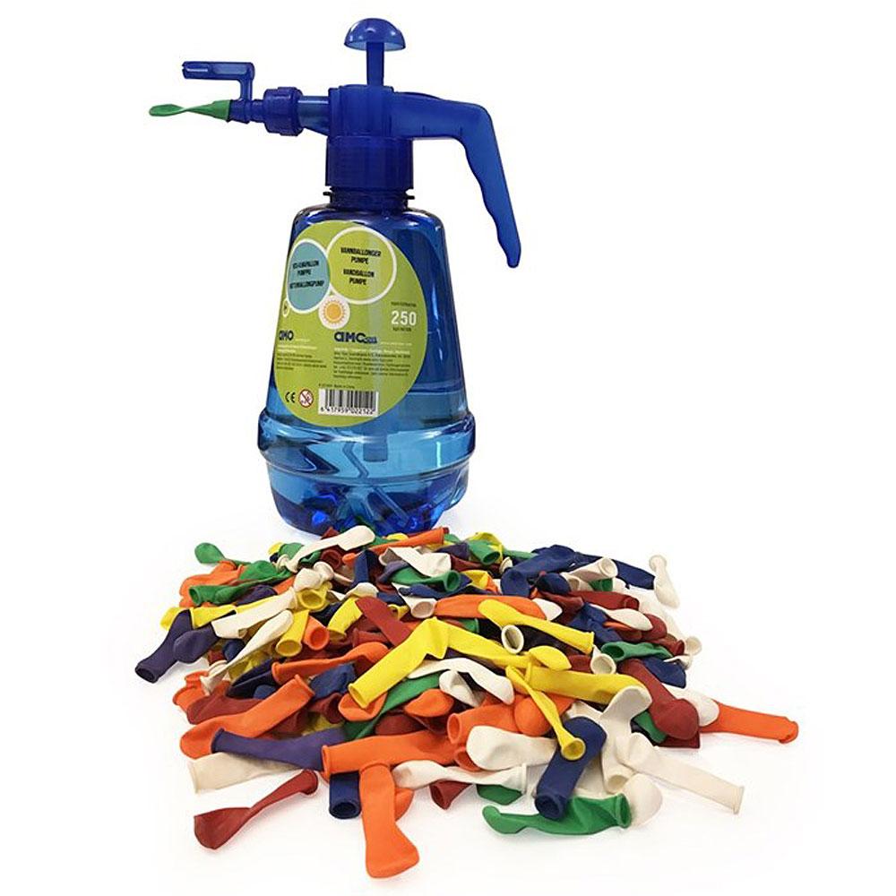 Pump med Vattenballonger Set