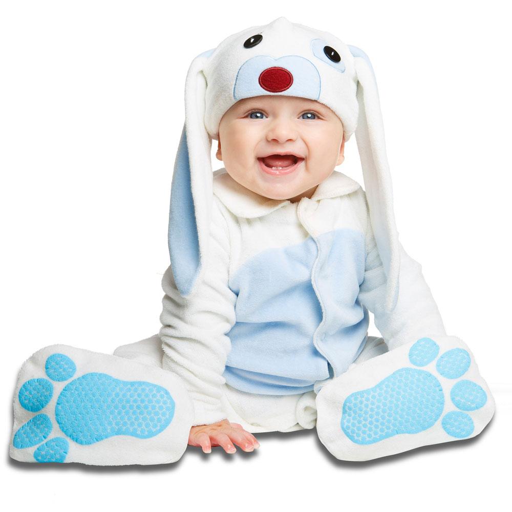 Kanin-produkter - Pyjamas Blå Kanin Barn (0-6 mån)