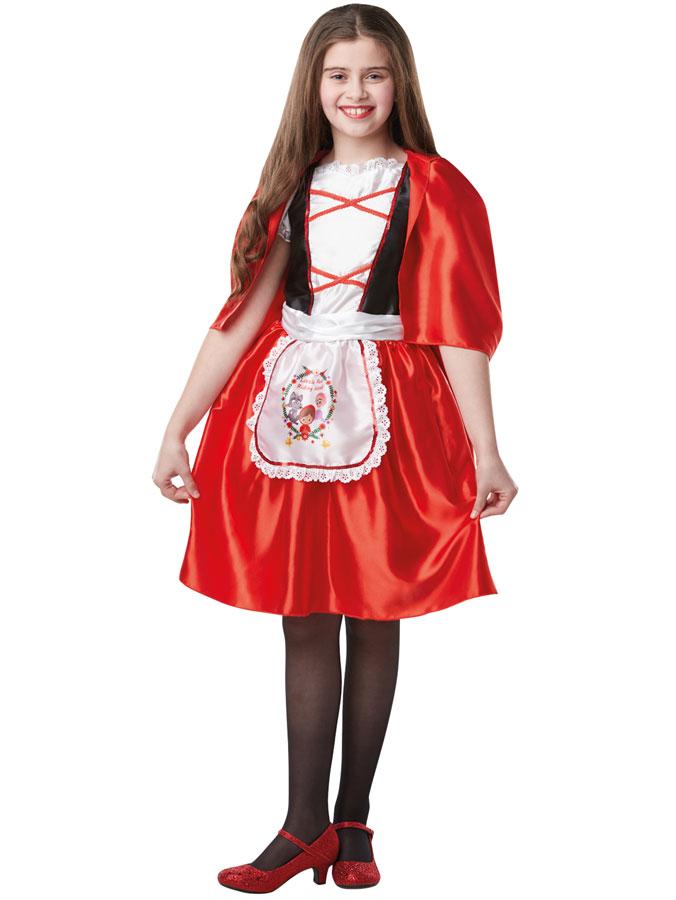 Red Riding Hood Dräkt Barn (Small (3-4 år))