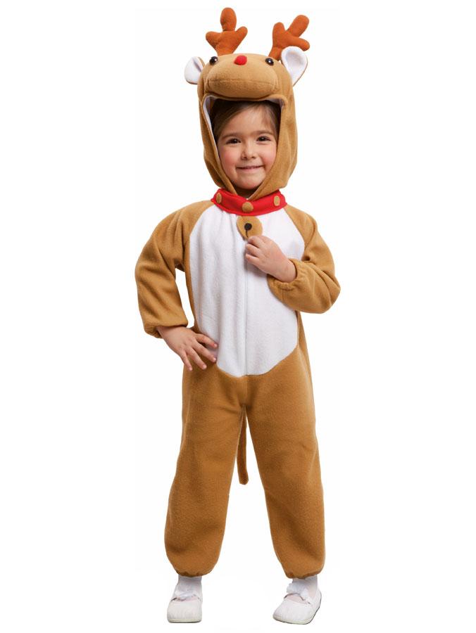 Ren Maskeraddräkt Barn (Small (3-4 år))