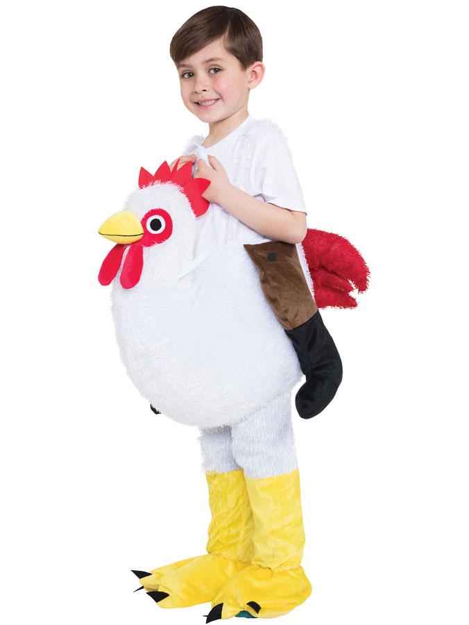 Ridande Kycklingdräkt för Barn