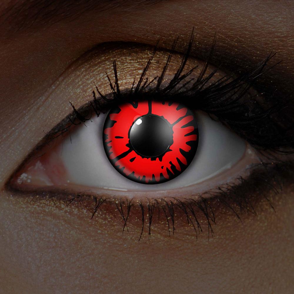 Röda UV Volturi Vampyr Linser
