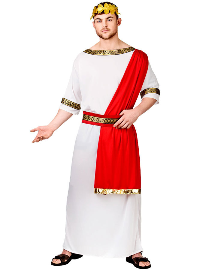 Romerska Kejsaren Maskeraddräkt (Medium)