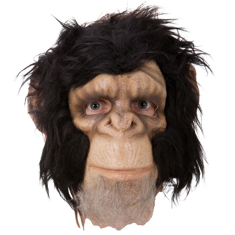 Schimpans Mask Deluxe