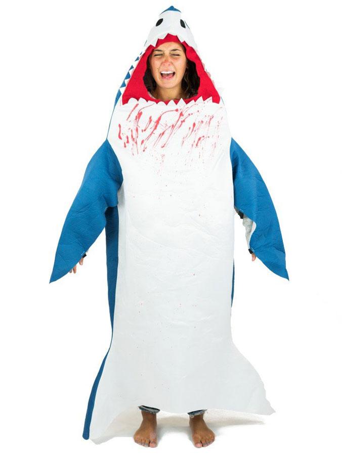 Hajdräkter - Shark Attack Hajdräkt