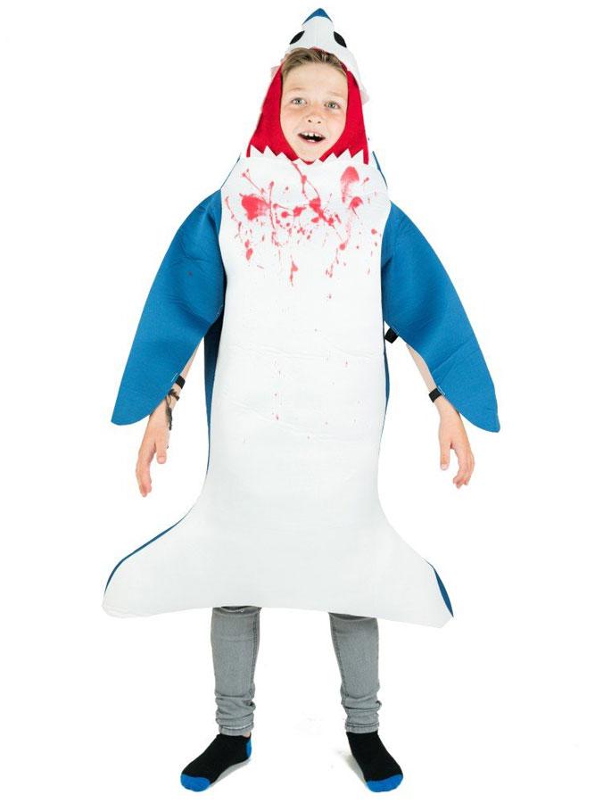 Hajdräkter - Shark Attack Hajdräkt Barn